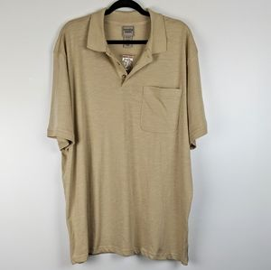NWOT Scandia Woods Tan Polo Shirt XL